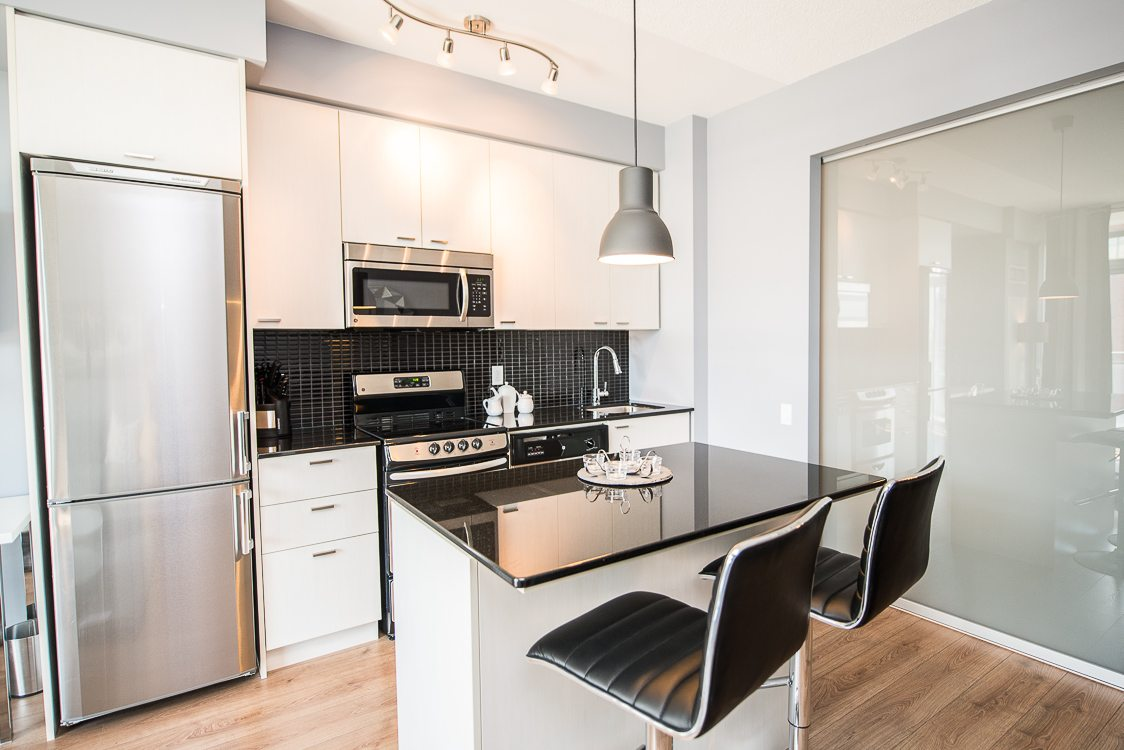 Furnished apartment in toronto kitchen