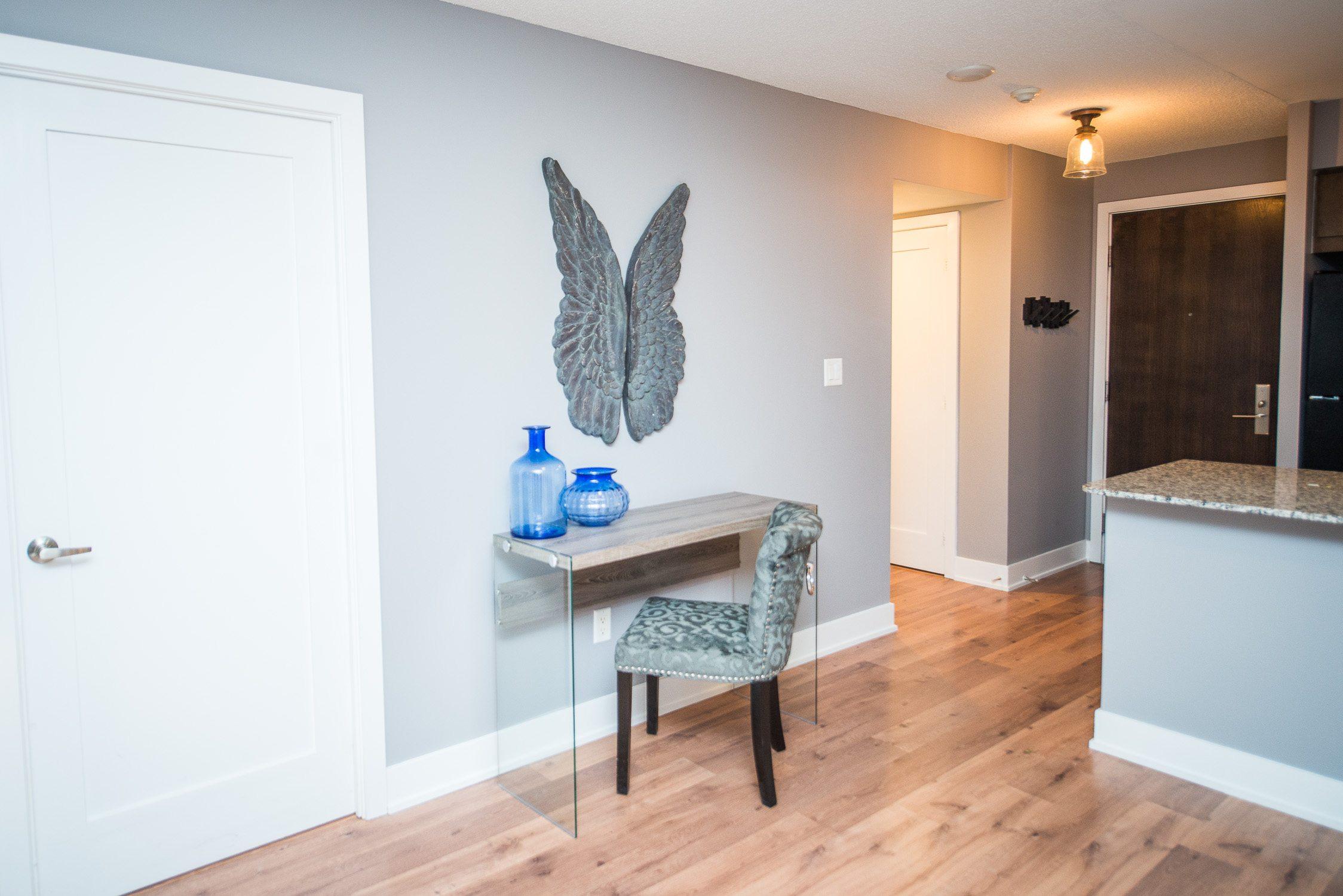 desk in toronto furnished living space