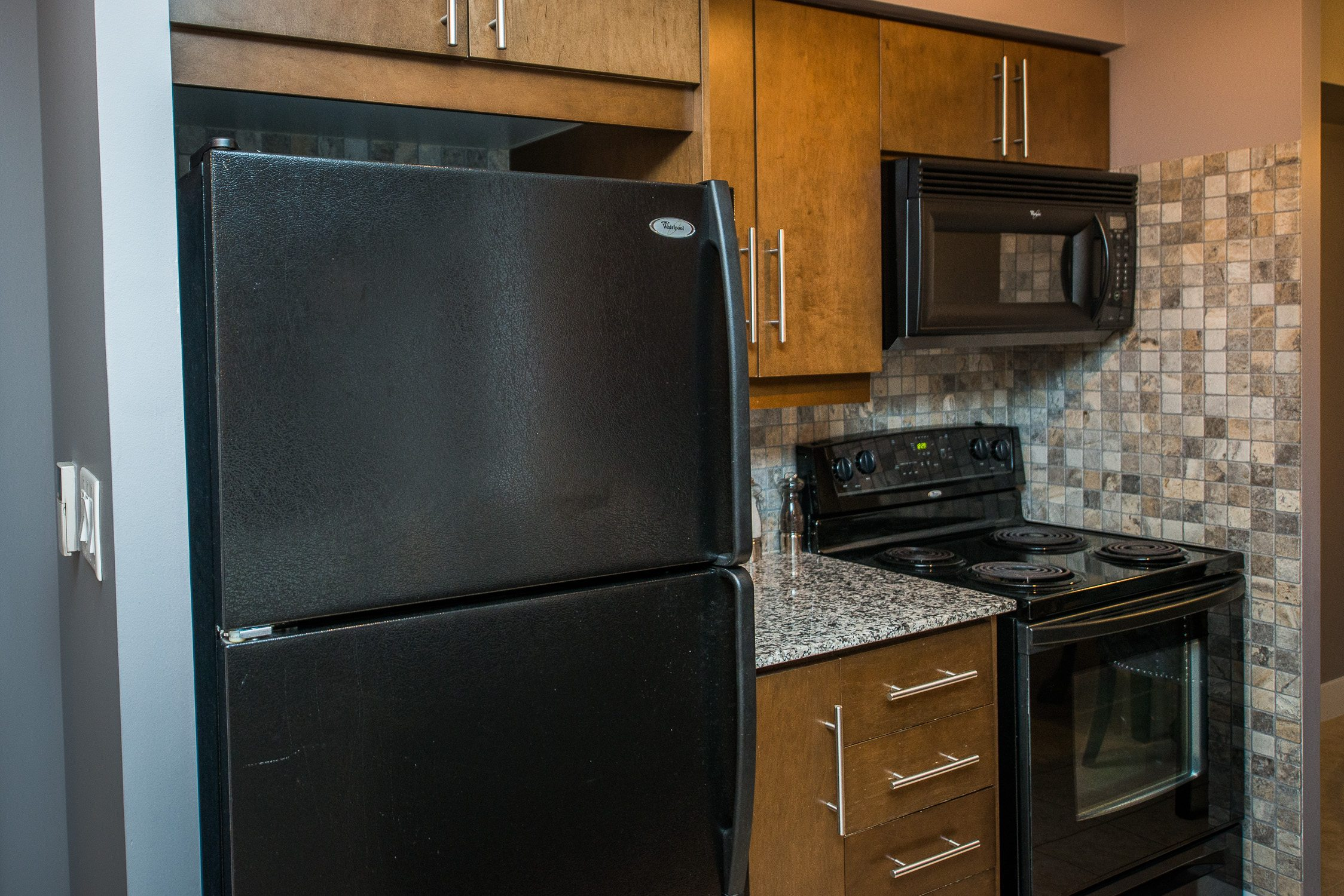 kithcen in furnished apartment toronto