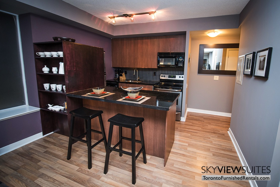 dining area furnished rentals the Urban toronto