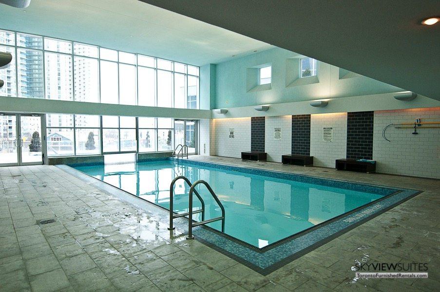 short term rentals toronto waterclub indoor pool