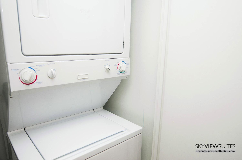 furnished rentals toronto waterfront washer dryer