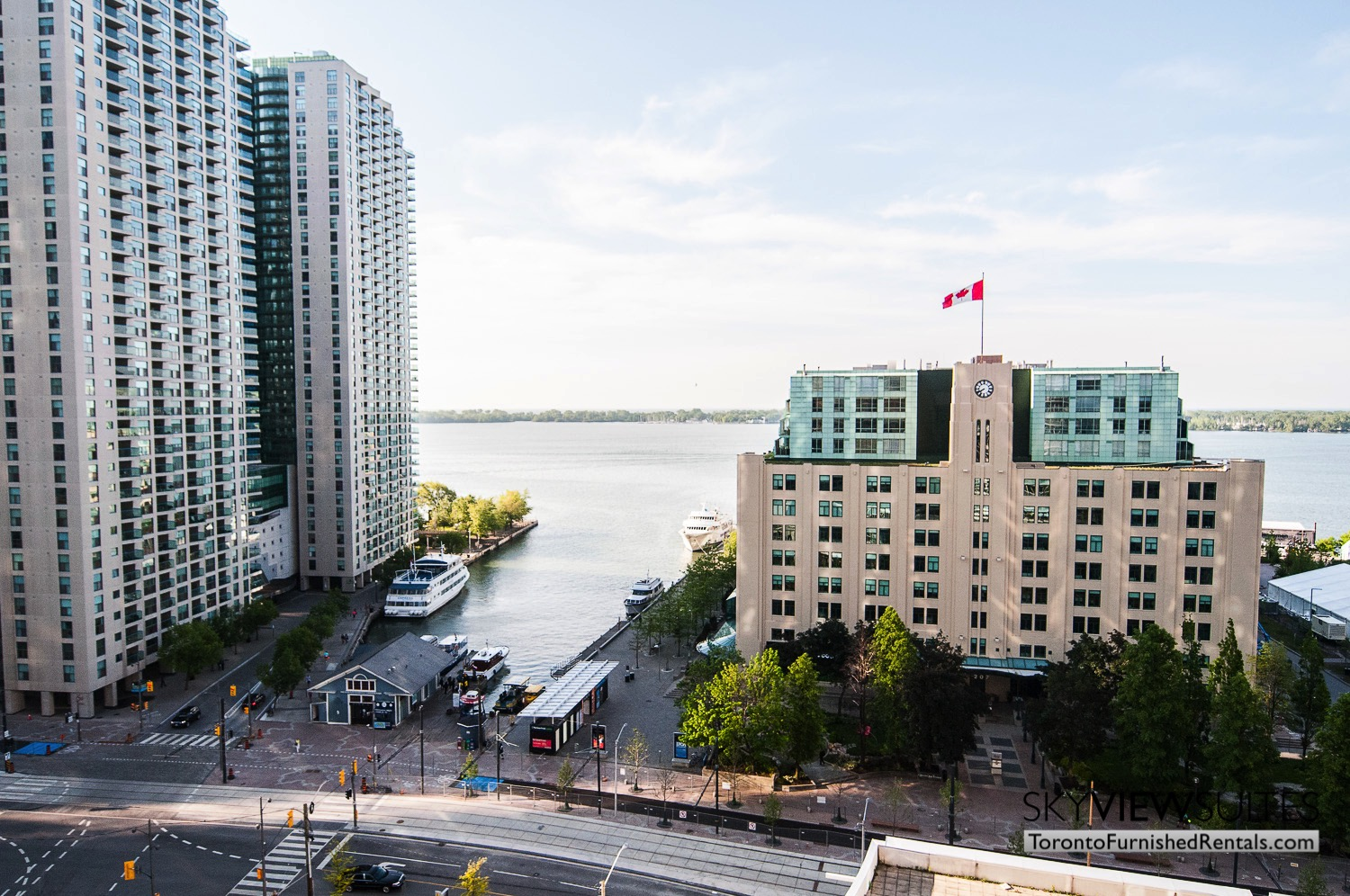 furnished rentals toronto waterfront view