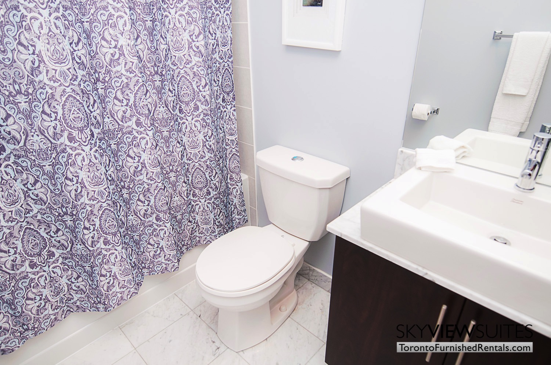 MLS furnished condo toronto shower curtain