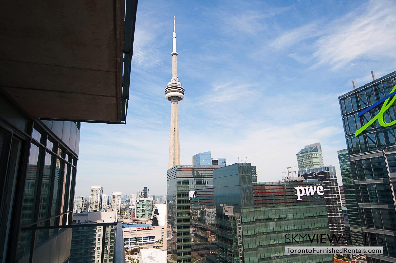 MLS furnished condo toronto cn tower