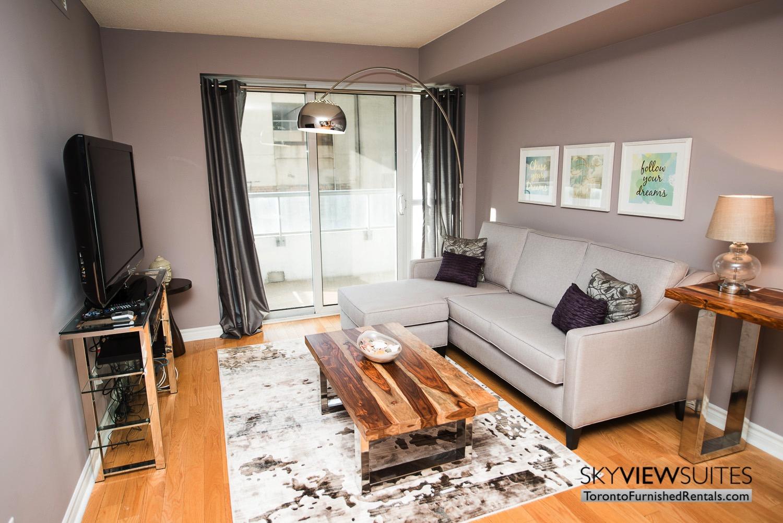 short-term-rental-living-room-entertainment-district