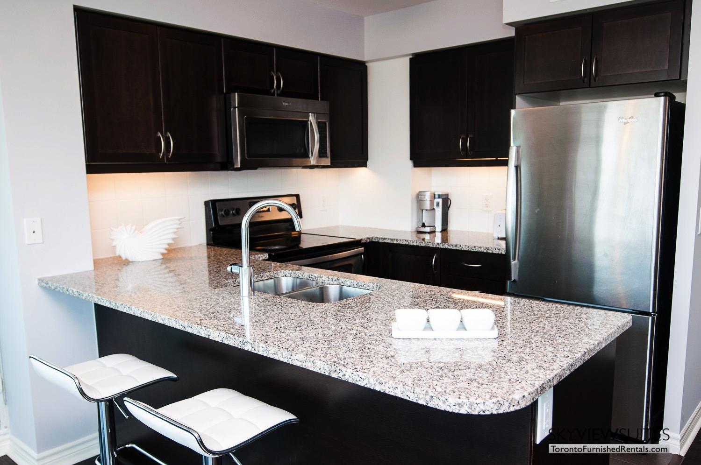 short-term-rentals-toronto-living-kitchen-entertainment-district