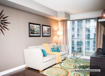 furnished apartments toronto living room bay and college
