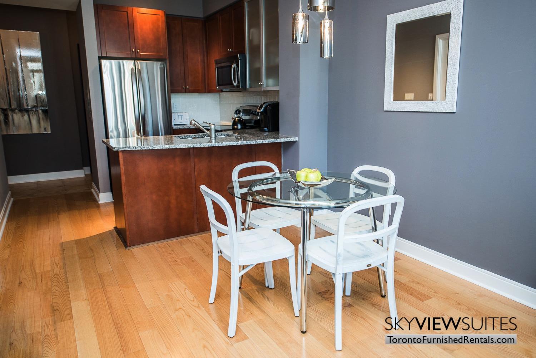 corporate rentals Yorkville toronto table