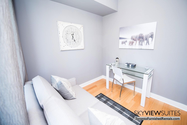corporate rentals Yorkville toronto desk