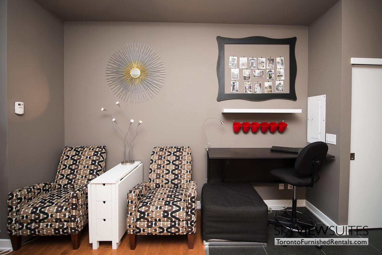 Market Street Toronto corporate rentals toronto desk and chair