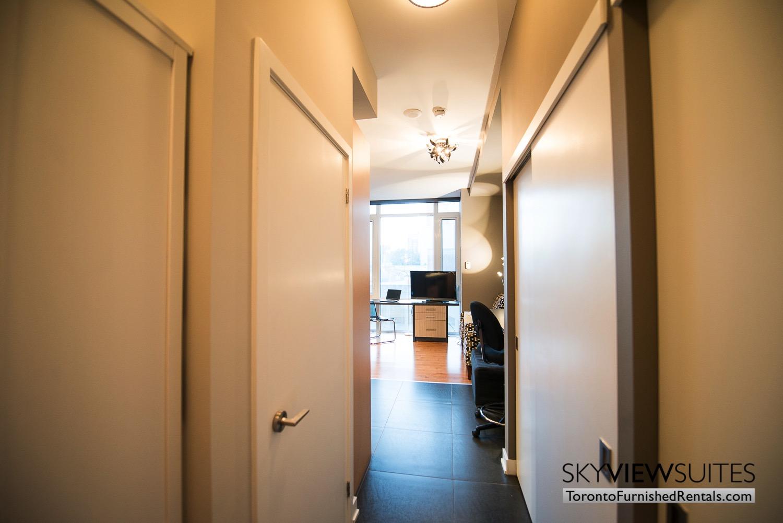 Market Street Toronto corporate rentals toronto hallway