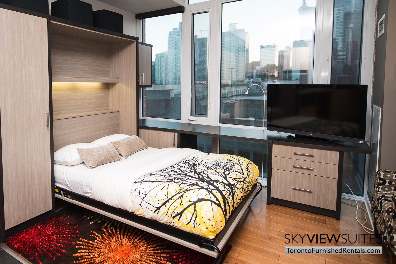 Market Street Toronto corporate rentals toronto murphy bed