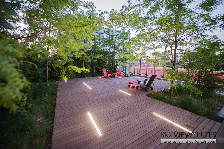 Market Street Toronto corporate rentals toronto cool patio