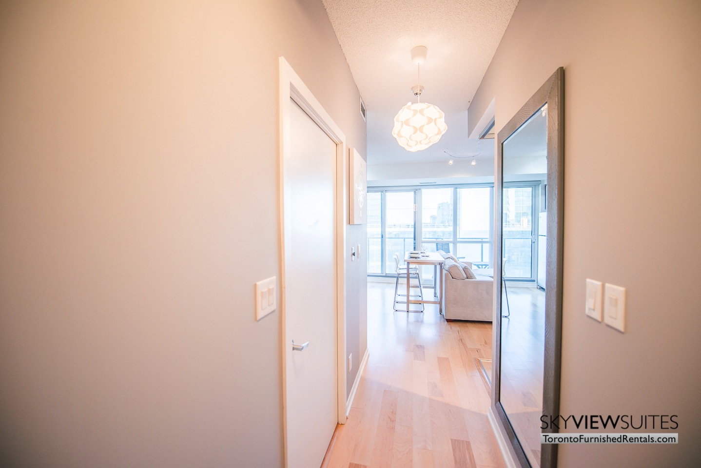 MLS furnished condo toronto front hall