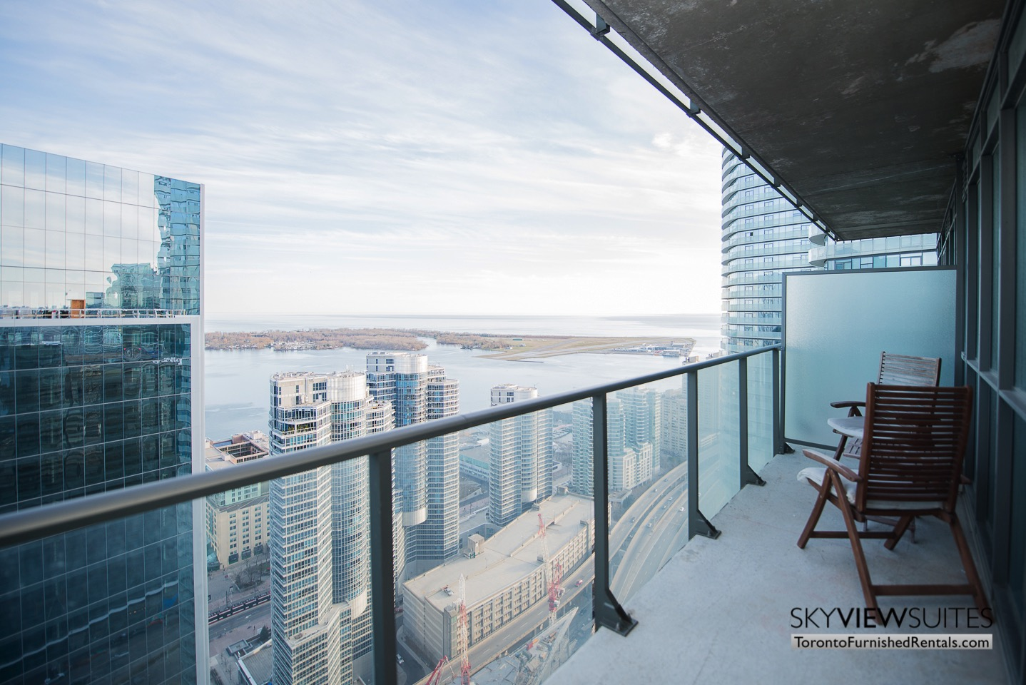 MLS furnished condo toronto balcony