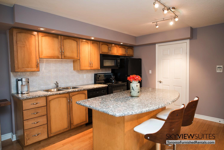 short-term-rental-kitchen-entertainment-district