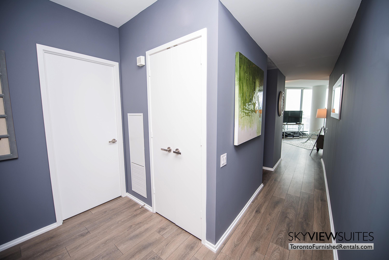 corporate rentals Yorkville toronto hallway