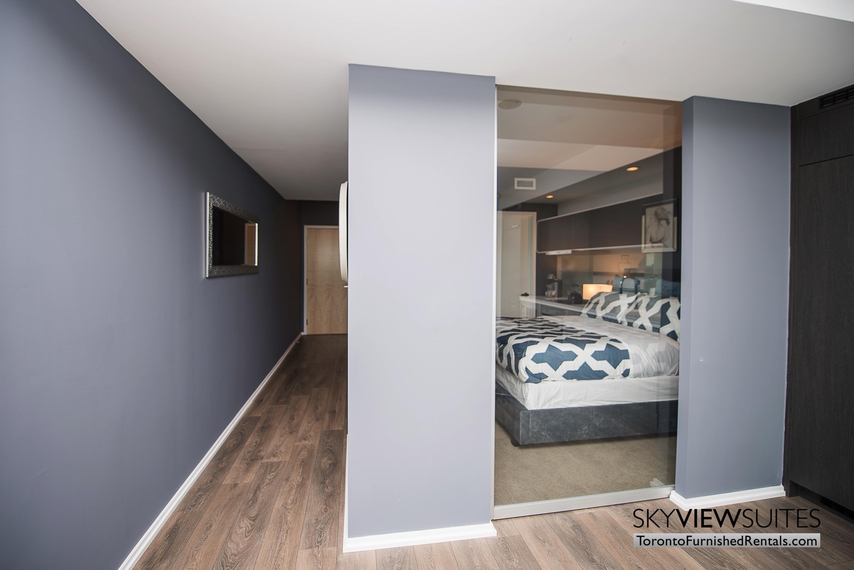 corporate rentals Yorkville toronto bedroom