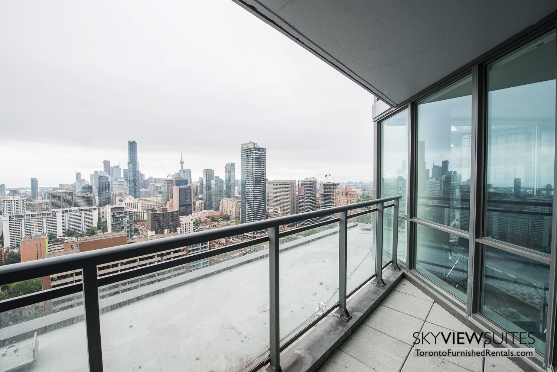 corporate rentals Yorkville toronto balcony