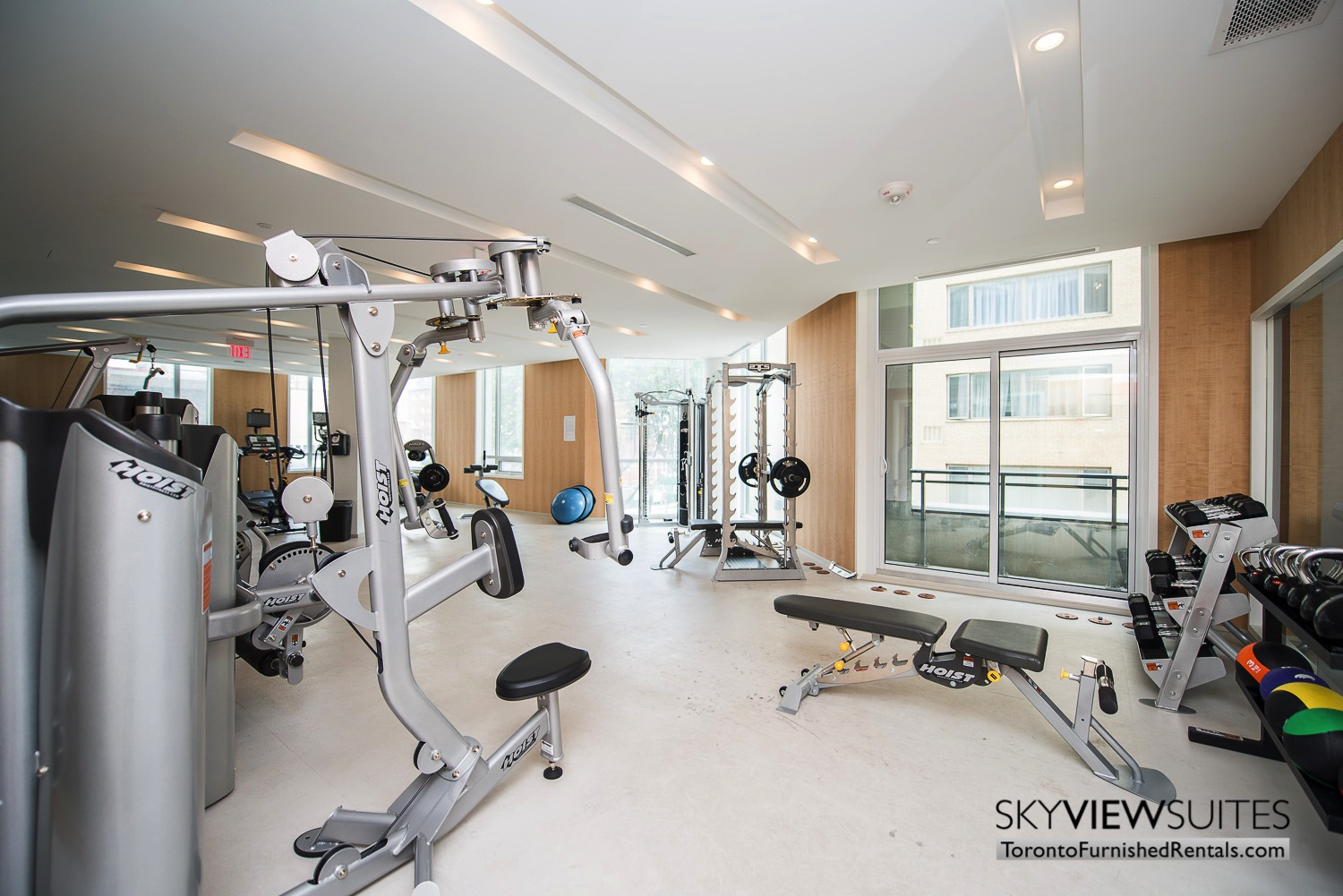 fitness centre corporate rentals Yorkville toronto