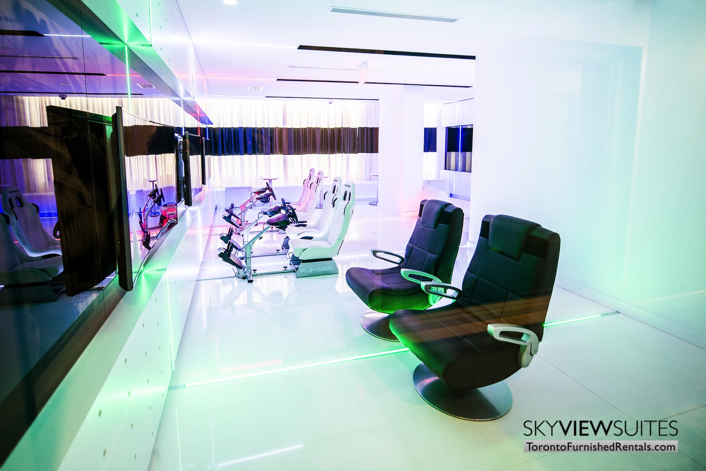 lobby corporate rentals Yorkville toronto