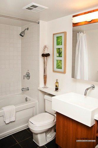 Cityplace West Toronto bathroom furnished condo