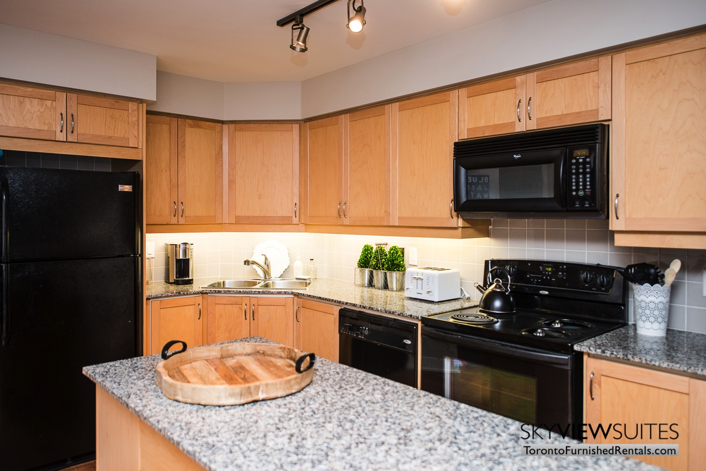 short-term-rentals-toronto-kitchen-entertainment-district