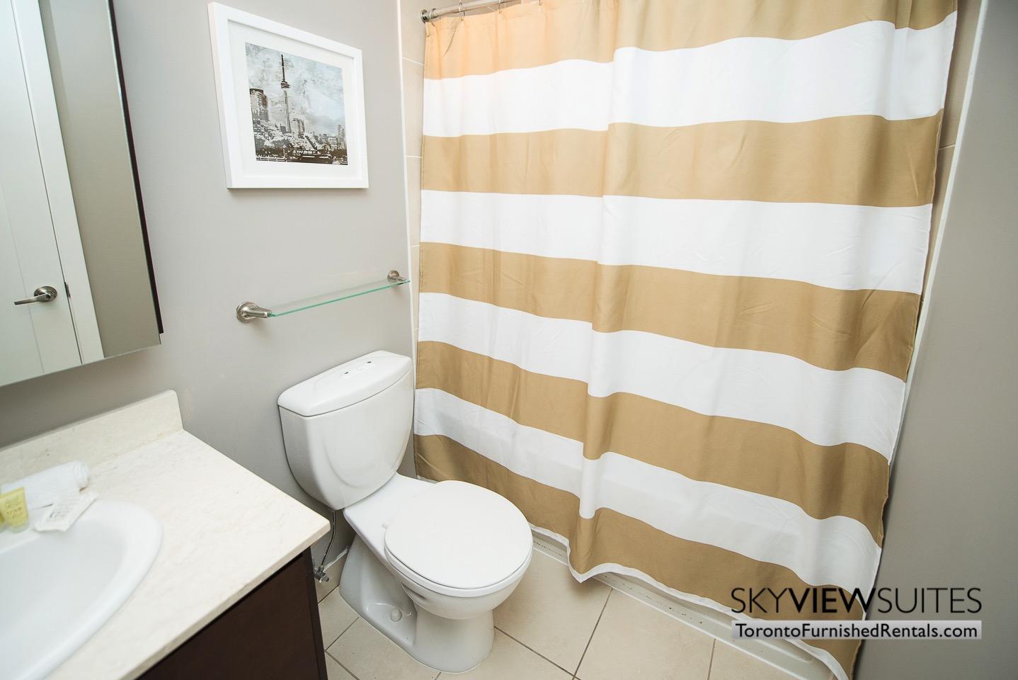 Element condo bathroom