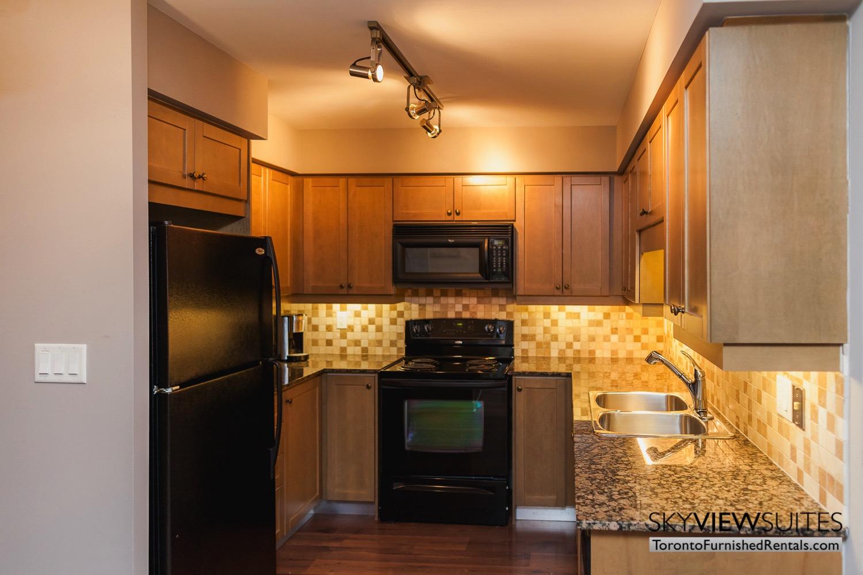 kitchen inside element condo unit