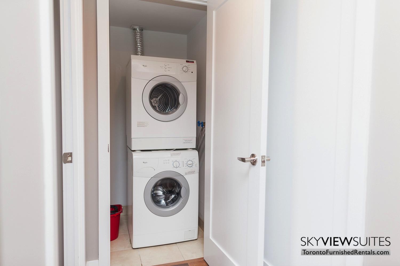 washing machine inside unit