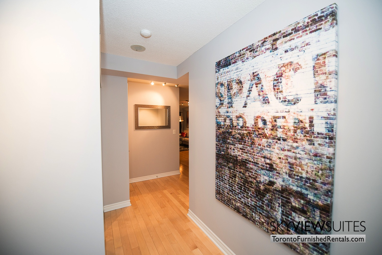 Wellington and Blue Jays Way executive rentals toronto wall art