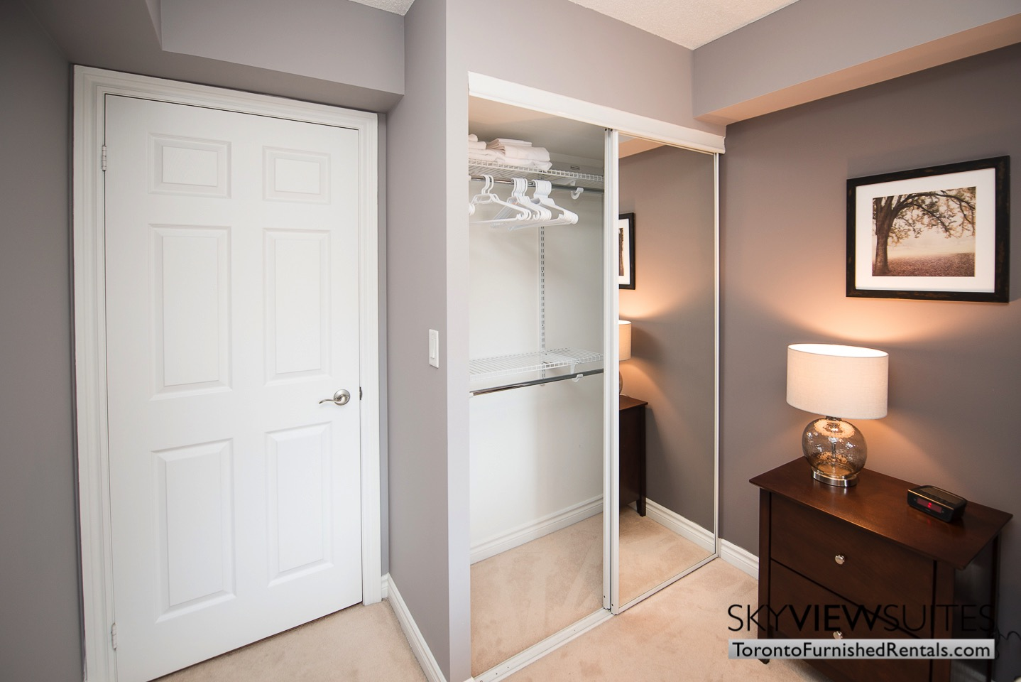 Wellington and Blue Jays Way executive rentals toronto bedroom closet space ample