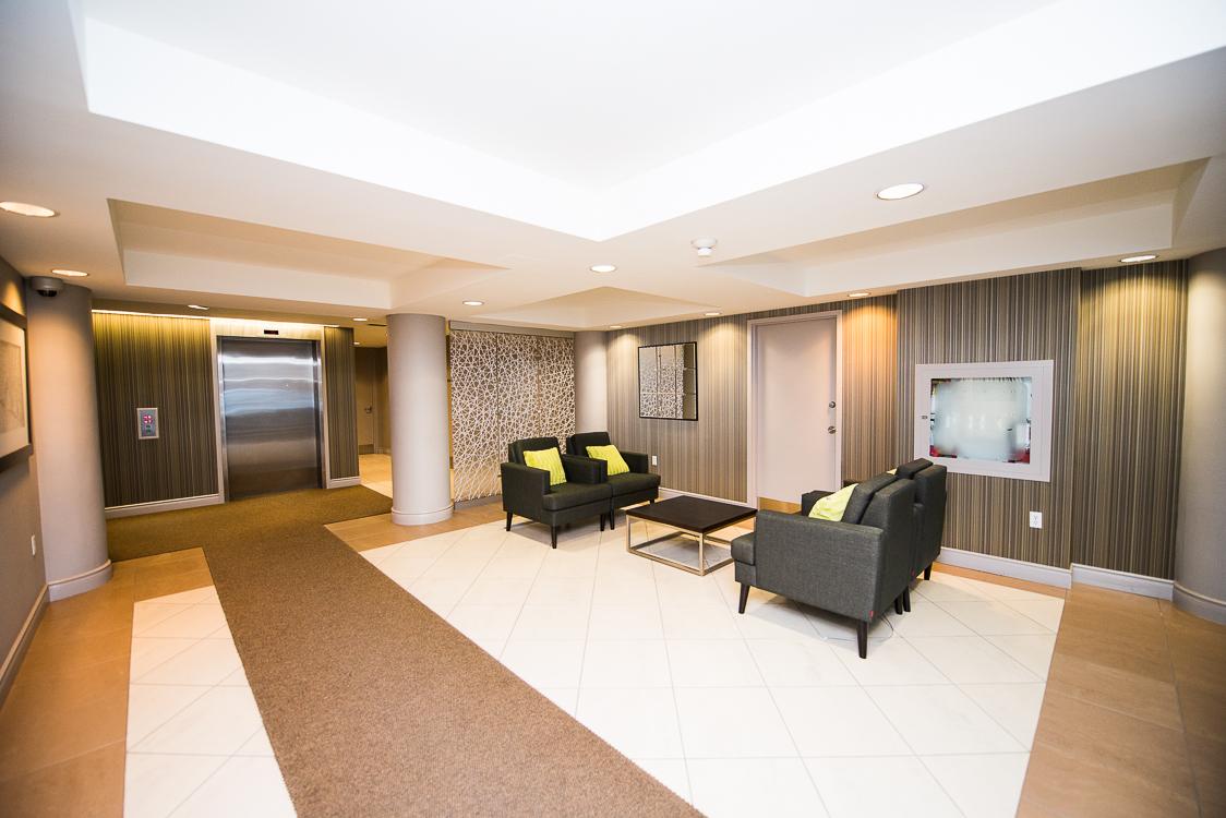 Adelaide & Sherbourne executive rentals toronto lobby