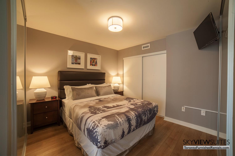 King west corporate rentals toronto bedroom