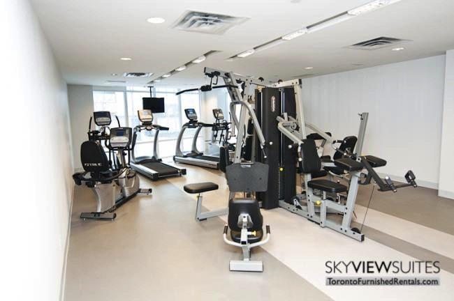 LTD corporate rentals toronto fitness centre