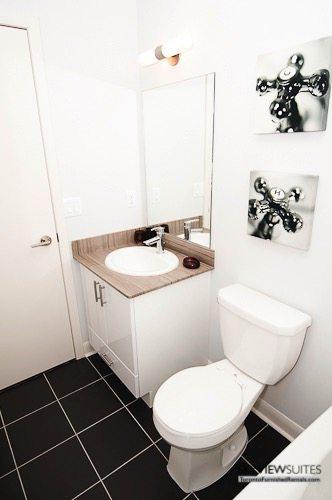 LTD corporate rentals toronto bathroom