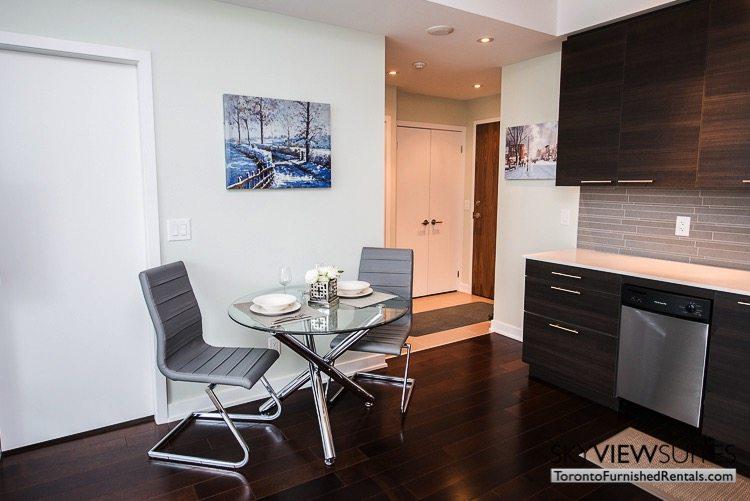 Market Street Toronto corporate rentals toronto table