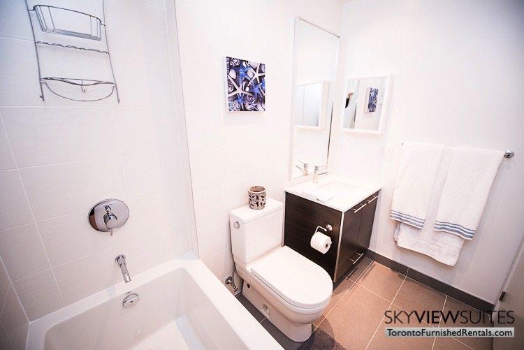 Market Street Toronto corporate rentals toronto shower