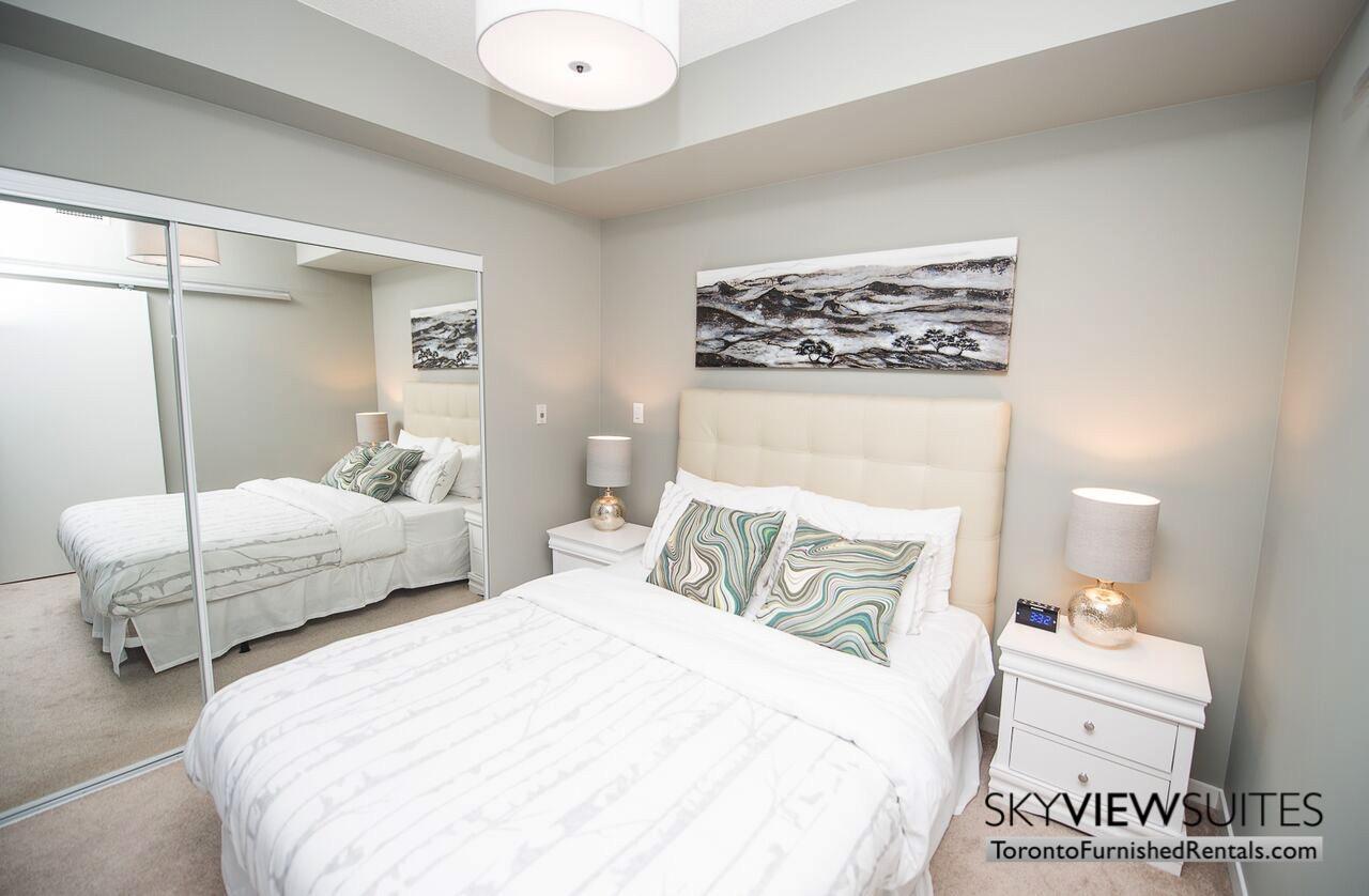 MLS furnished condo toronto bedroom