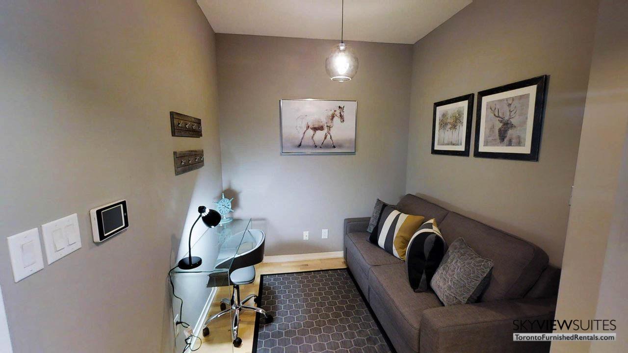 MLS serviced apartments toronto den desk
