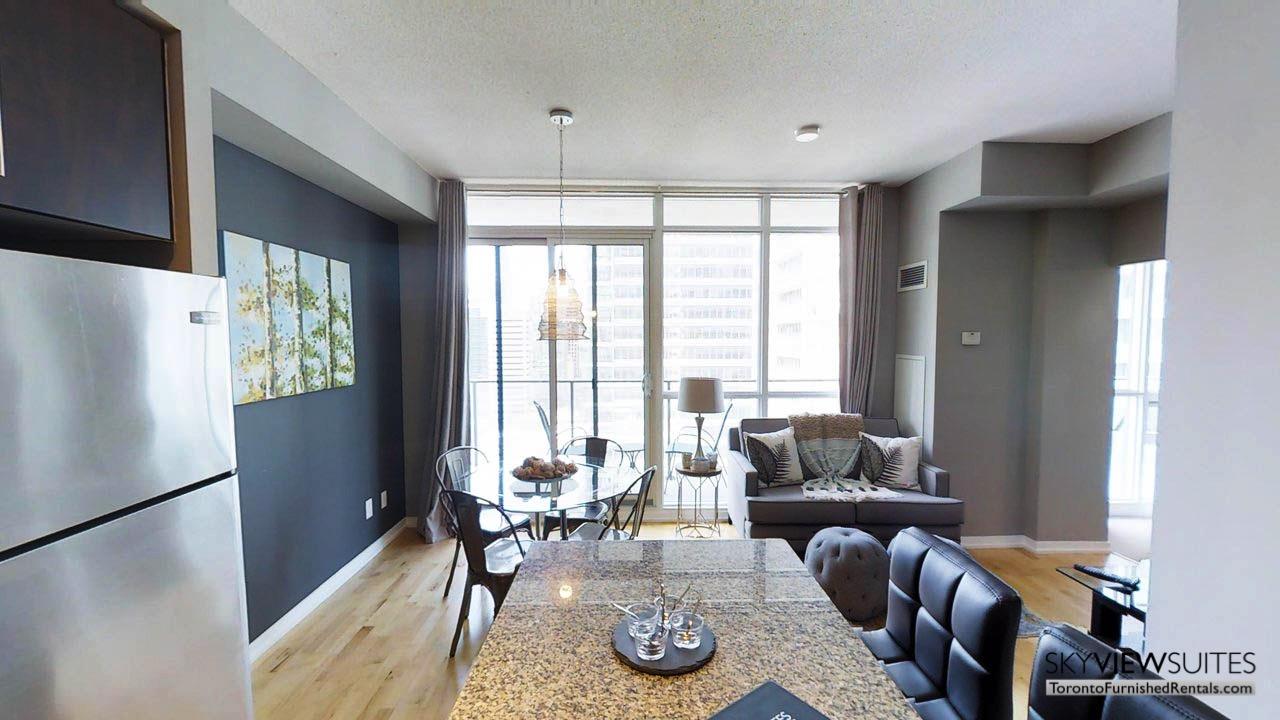 MLS serviced apartments toronto kitchen