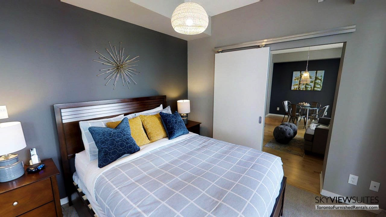 MLS serviced apartments toronto bedroom