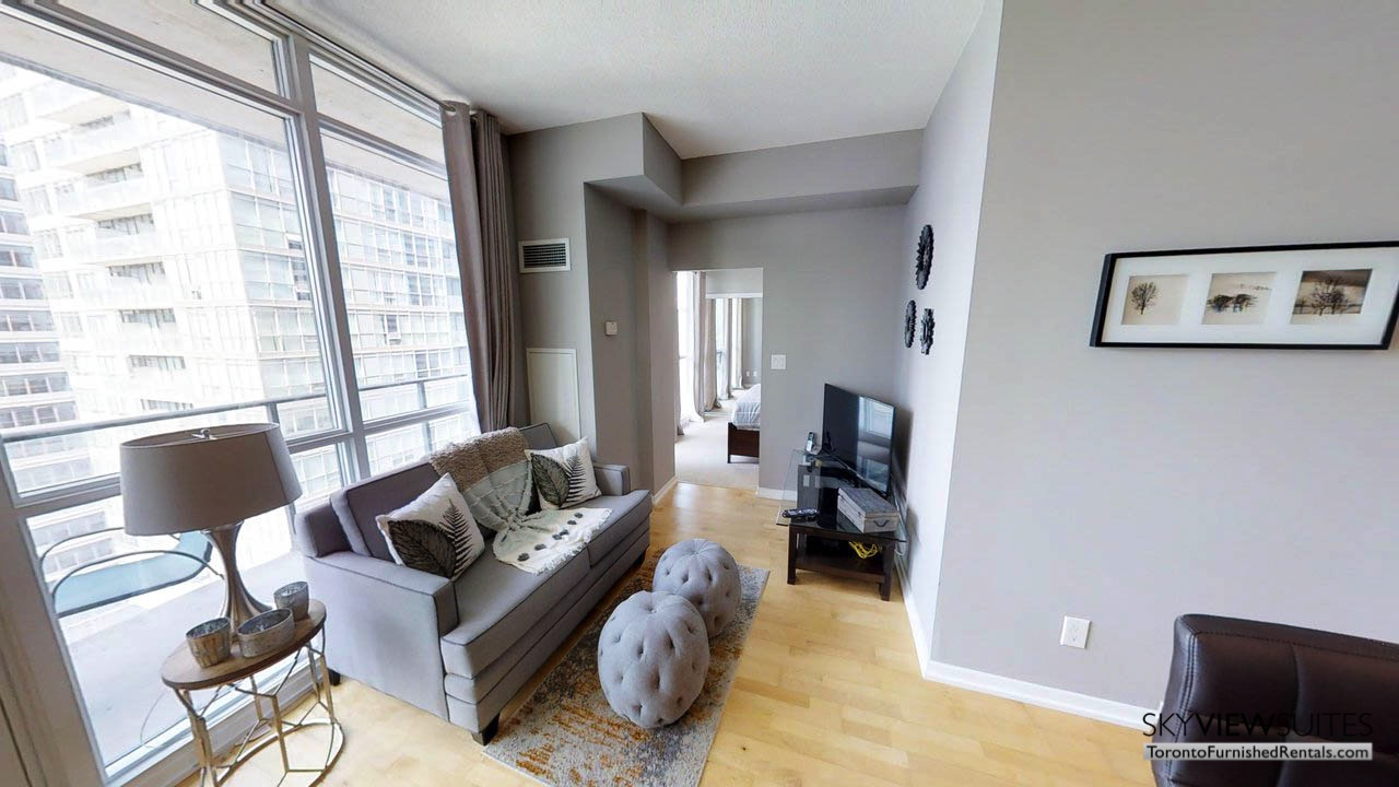 MLS serviced apartments toronto couch