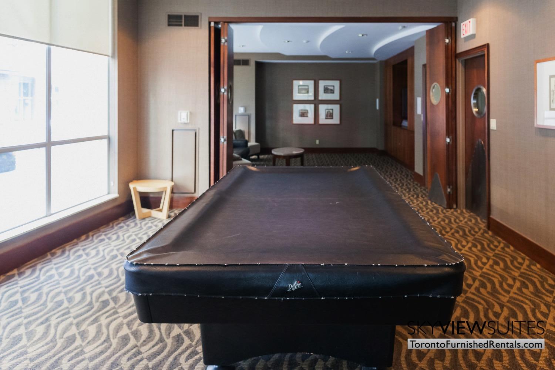 Qwest executive rental Toronto pool table