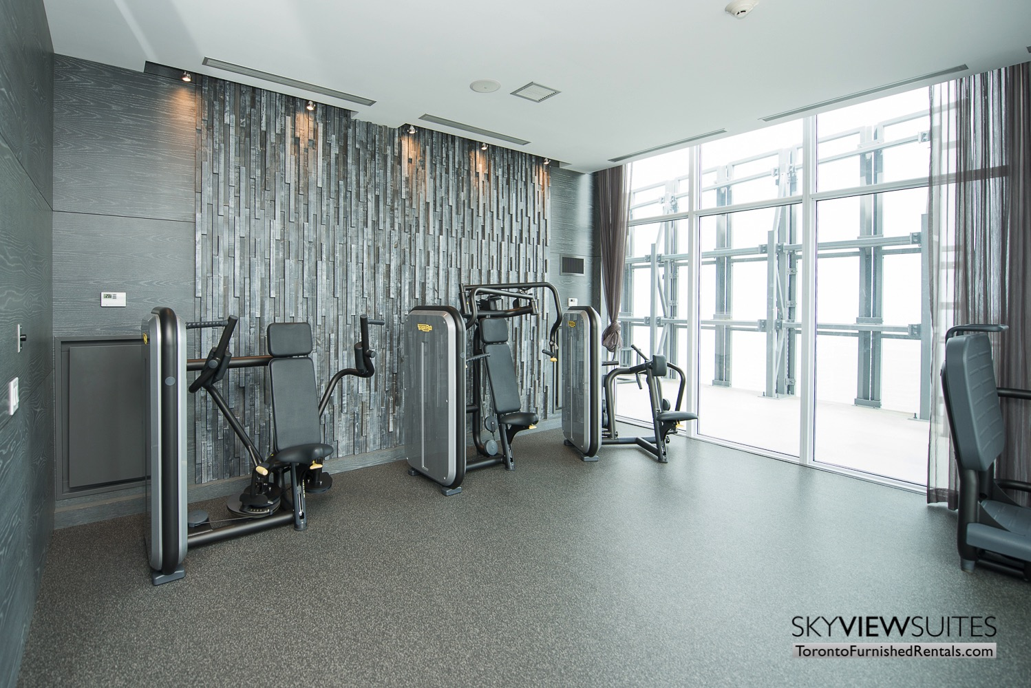 furnished apartments toronto Varsity fitness centre