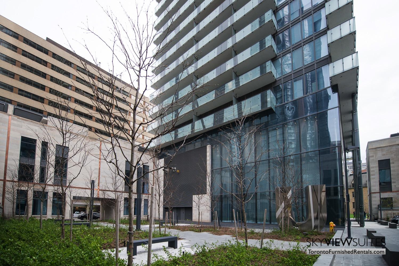 furnished apartments toronto Varsity entrance