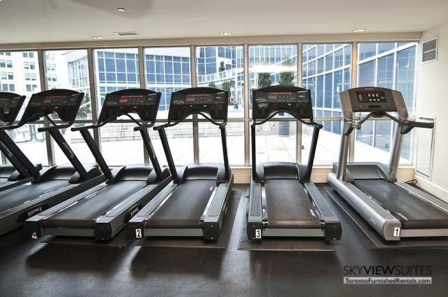 furnished-apartment- gym-waterfront