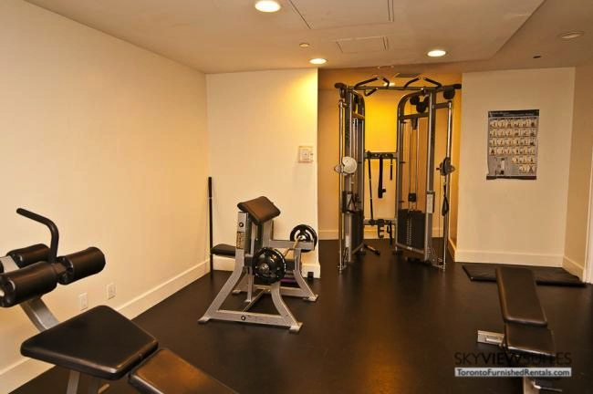 short term rentals toronto waterclub fitness centre