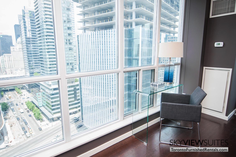 furnished rentals toronto waterfront desk
